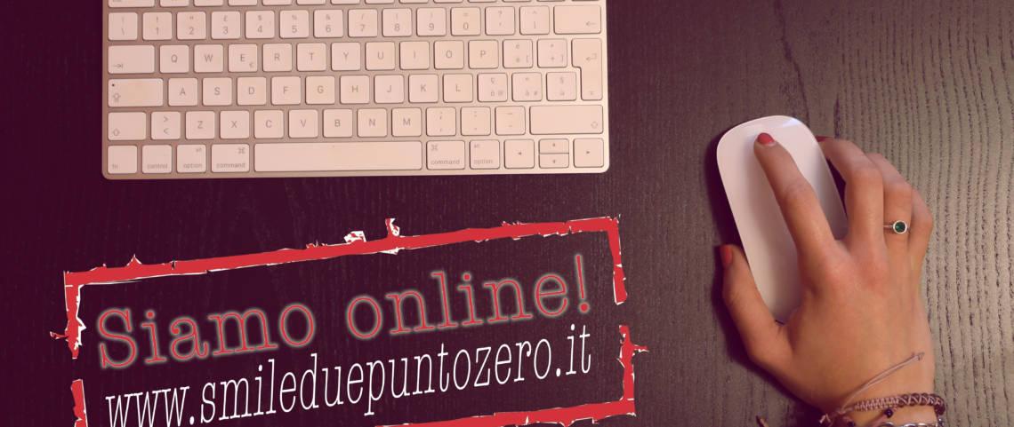 Siamo online!