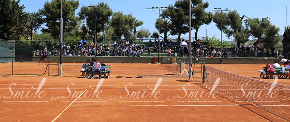 Circolo Tennis – il pubblico presente sugli spalti