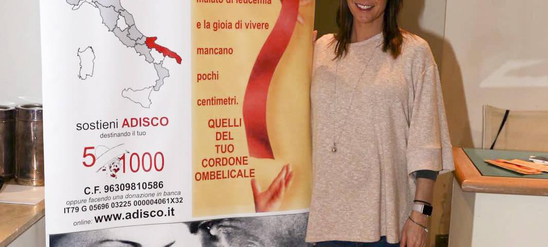 Flavia Pennetta, testimonial di Adisco Brindisi