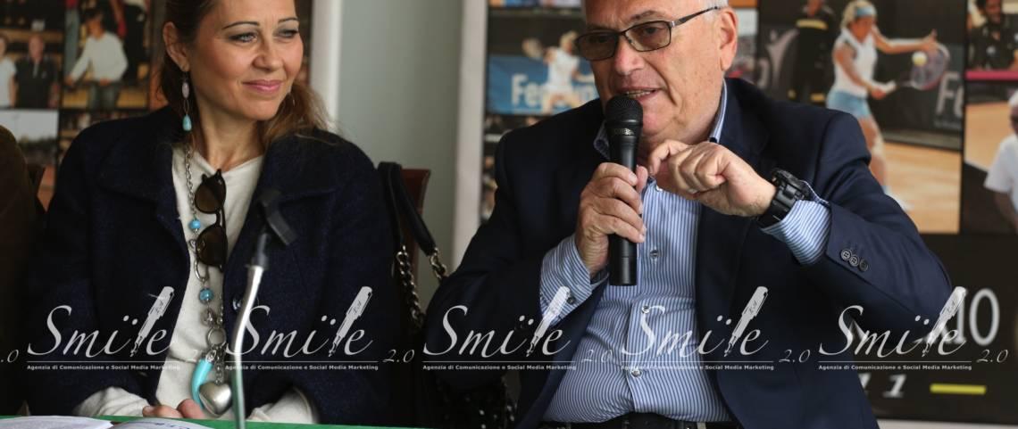 Il sindaco Carluccio e Donato Calabrese, cosigliere nazionale FIT