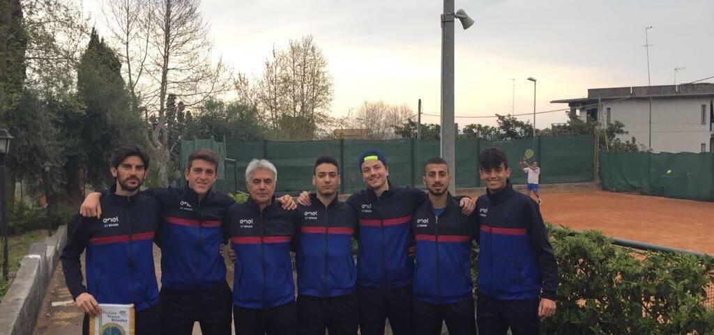 La squadra di serie B del C.T. Brindisi ad Aci Castello