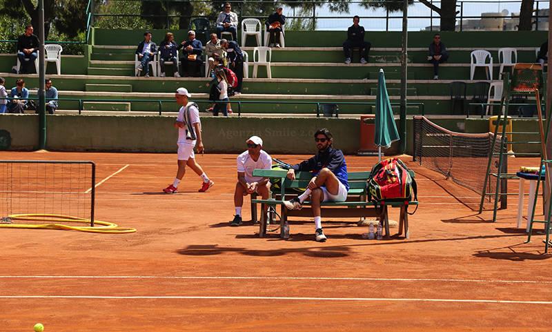 Alberto Ciampa e Vito Tarlo in panchina