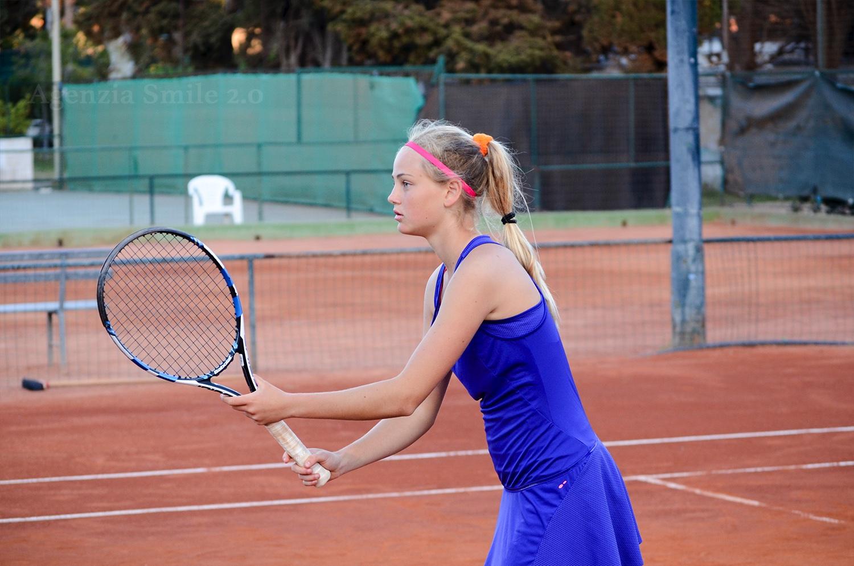 Asia Serafini, finalista Internazionale Under 14