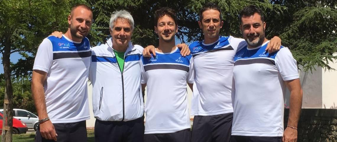 Tennis, serie D1: il Ct Brindisi batte Ostuni (3-1) e torna al successo