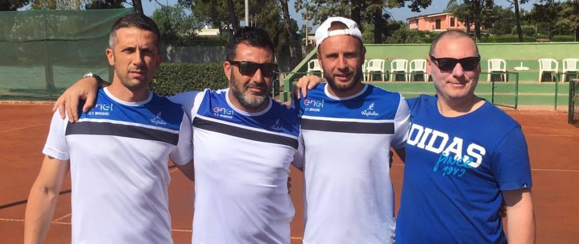 La squadra di serie D1 del C.T. Brindisi in trasferta a Galatina
