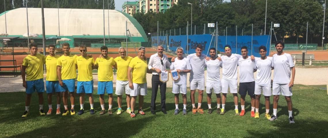 Le squadre di Pesaro e Brindisi