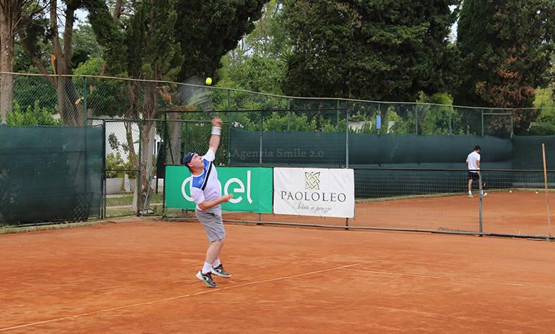 Antonio Parnasso, giocatore del C.T. Brindisi