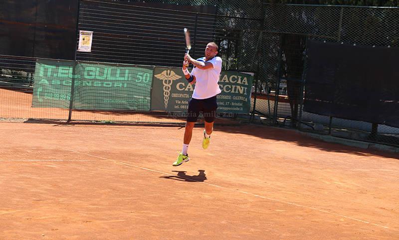 Piero Cerasino, giocatore del CT Brindisi