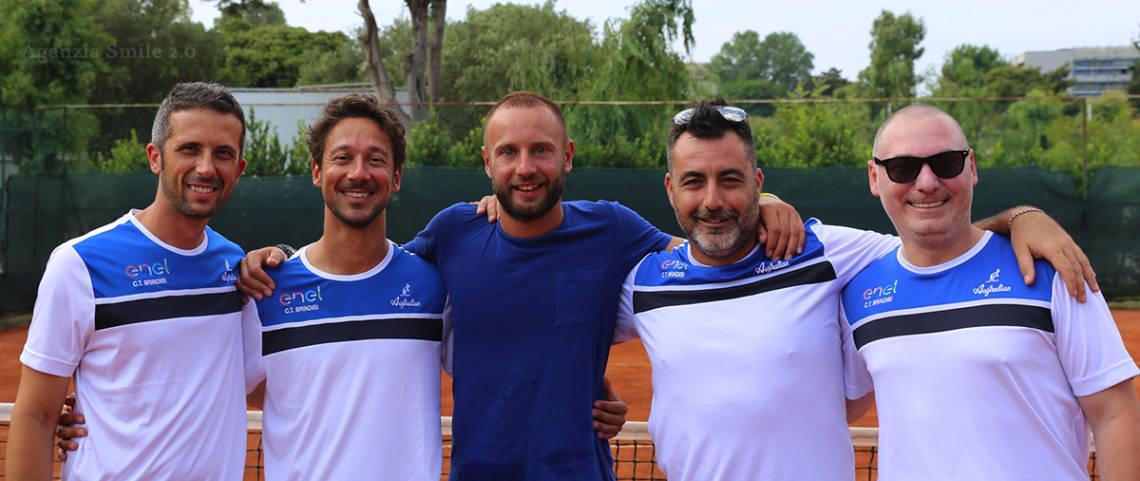 Tennis, serie D1 maschile: il CT Brindisi piega (4-0) Casarano