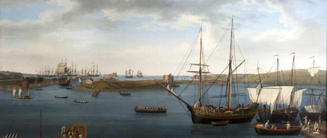 """Baia e porto di Brindisi"": una prima assoluta in città per l'opera di Hackert"