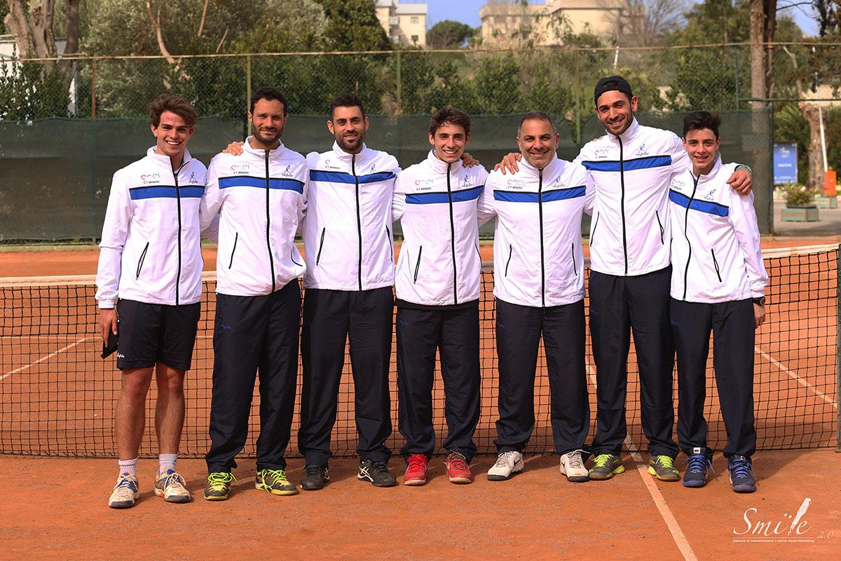 La squadra di serie C del CT Brindisi