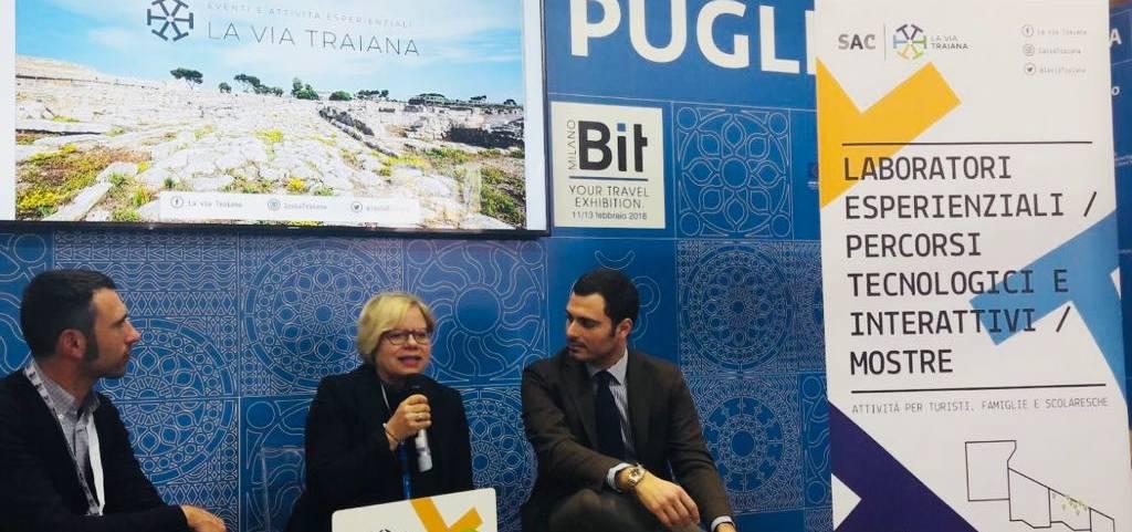 """Il S.A.C. """"La Via Traiana"""" presentato alla BIT di Milano 2018"""