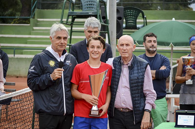 Daniele Minighnini con Carlo Faccini e Oronzo Pennetta