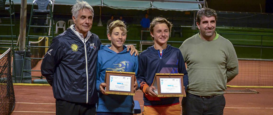 I vincitori del torneo di doppio maschile_2018