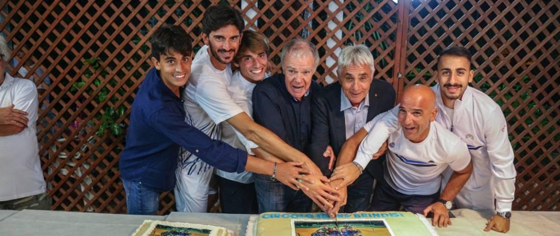 Festa al Ct Brindisi per celebrare la storica promozione in A2